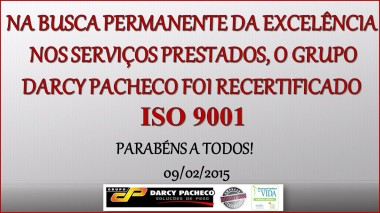 INFORMATIVO ISO 9001 SITE 2
